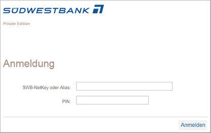 Südwestbank Online